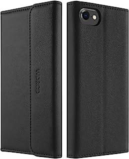 WD&CD Cuero Funda Compatible para iPhone SE 2020/6/6s/7/8[Garantía de por Vida],Cierre Magnético Snap Flip Proteccion Caso...