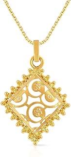 Malabar Gold & Diamonds 22k (916) Yellow Gold Pendant for Women