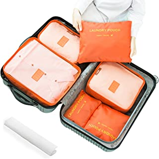 166af71e5f89 Amazon.com: packing cubes - Oranges / Packing Organizers / Travel ...