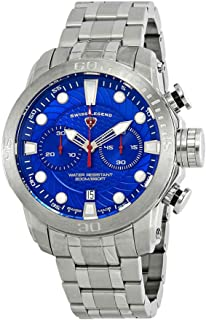 Swiss Legend Seagate Chronograph Blue Dial Watch SL-10624SM-33