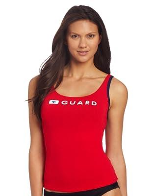 Speedo Women's Guard Swimsuit Tankini Top Endurance - Manufacturer Discontinued