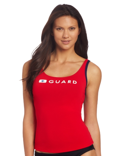 Speedo Women's Guard Swimsuit Tankini Top Endurance - Manufacturer Discontinued