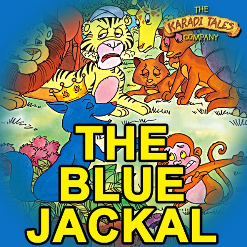The Blue Jackal audiobook cover art