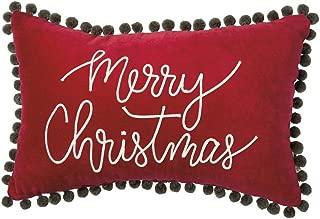 Primitives by Kathy Velvet Throw Pillow, Merry Christmas