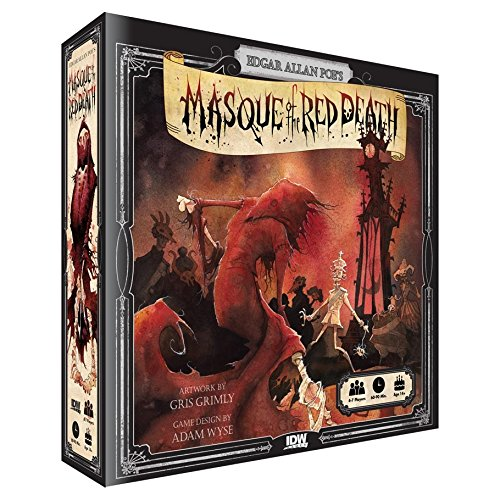 Edgar Allen Poe's Masque of the Red Death Board Game