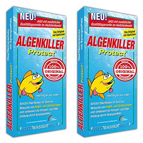 Algenkiller Protect - 2 x 150 gr zuverlässig gegen alle Algen im Teich