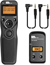 Wireless Shutter Release Comaptible for Canon, Pixel TW-283 E3/N3 Wireless Remote Control Timer Shutter Release Cable Comp...