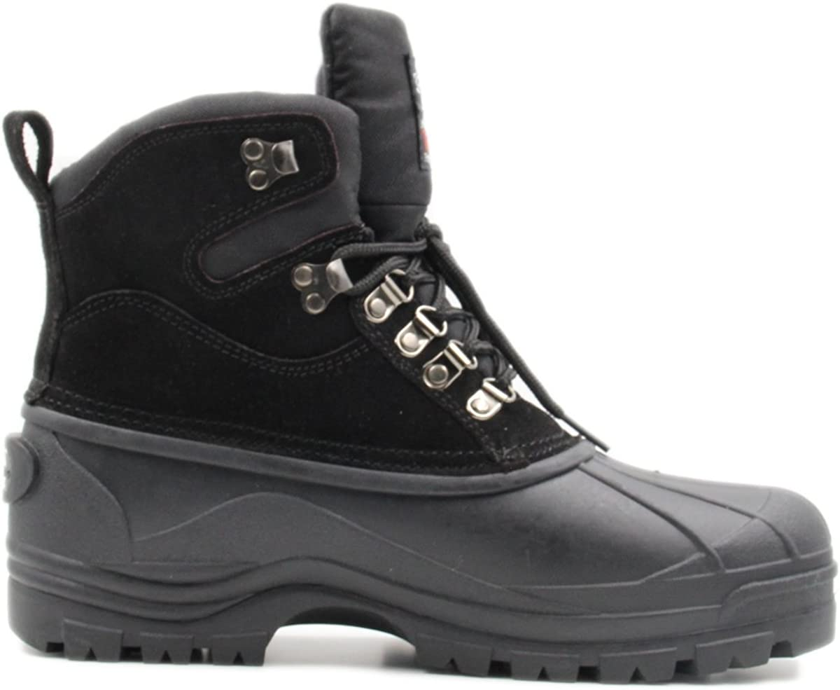Parrazo Men's Water Resistance Snow Duty Hiking Heavy and Large special price !! Laced- Popular products