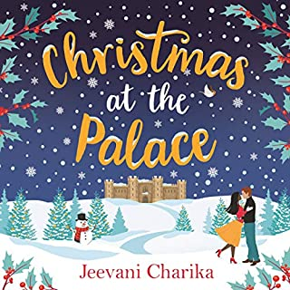 Christmas at the Palace audiobook cover art