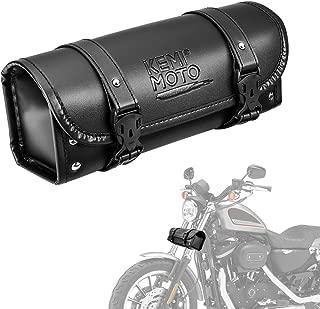 Motorcycle Fork Bag,  Handlebar Tool Bag with Internal Zipper Pocket for Motorcycle Front Forks Handlebar Sissybar