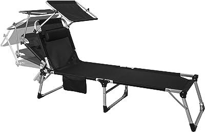 Lounge brouette Chaise longueLit Lita Noir Slide Low 7fb6yvIYg