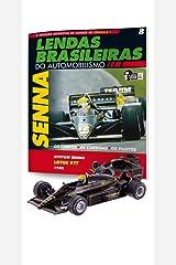 Lotus Renault 97T. Ayrton Senna - Lendas Brasileiras do Automonilismo. 8 Capa comum