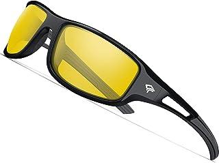 ab38059057e TOREGE Polarized Sports Sunglasses for Men Women Cycling Running Driving  Fishing Golf Baseball Glasses GRILAMID TR90