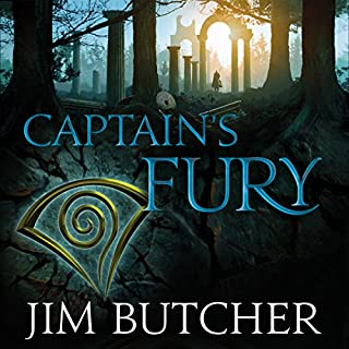 Captain's Fury     The Codex Alera: Book Four              By:                                                                                                                                 Jim Butcher                               Narrated by:                                                                                                                                 Kate Reading                      Length: 19 hrs and 33 mins     77 ratings     Overall 4.8