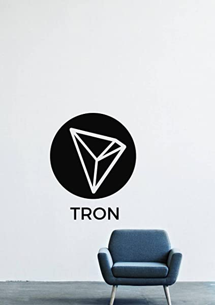 Tron Cryptocurrency Wall Decals Decor Vinyl Stickers GMO9754