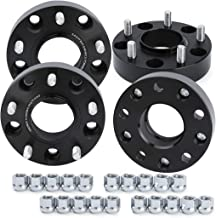 KSP Wheel Spacers for Ram 1500, 4Pcs 1.5(38mm) 5x5.5 to 5x5.5 Hub Centric Forged Wheel Spacers, Hub Bore 77.8mm Thread Pitch M14X1.5 for 2012-2018 Dodge Ram 1500, 2 Years Warranty