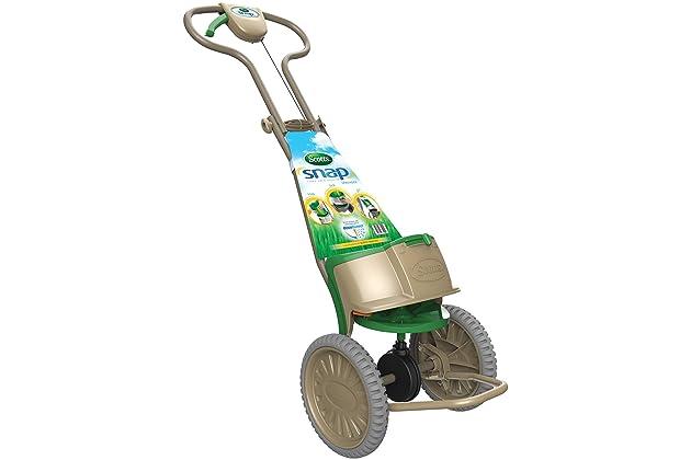 spreader drop lawns snap scotts