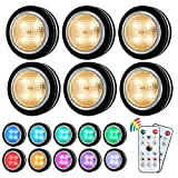 Best Puck Lights - Puck Lights with Remote,Under Cabinet Lighting Puck Lights Review