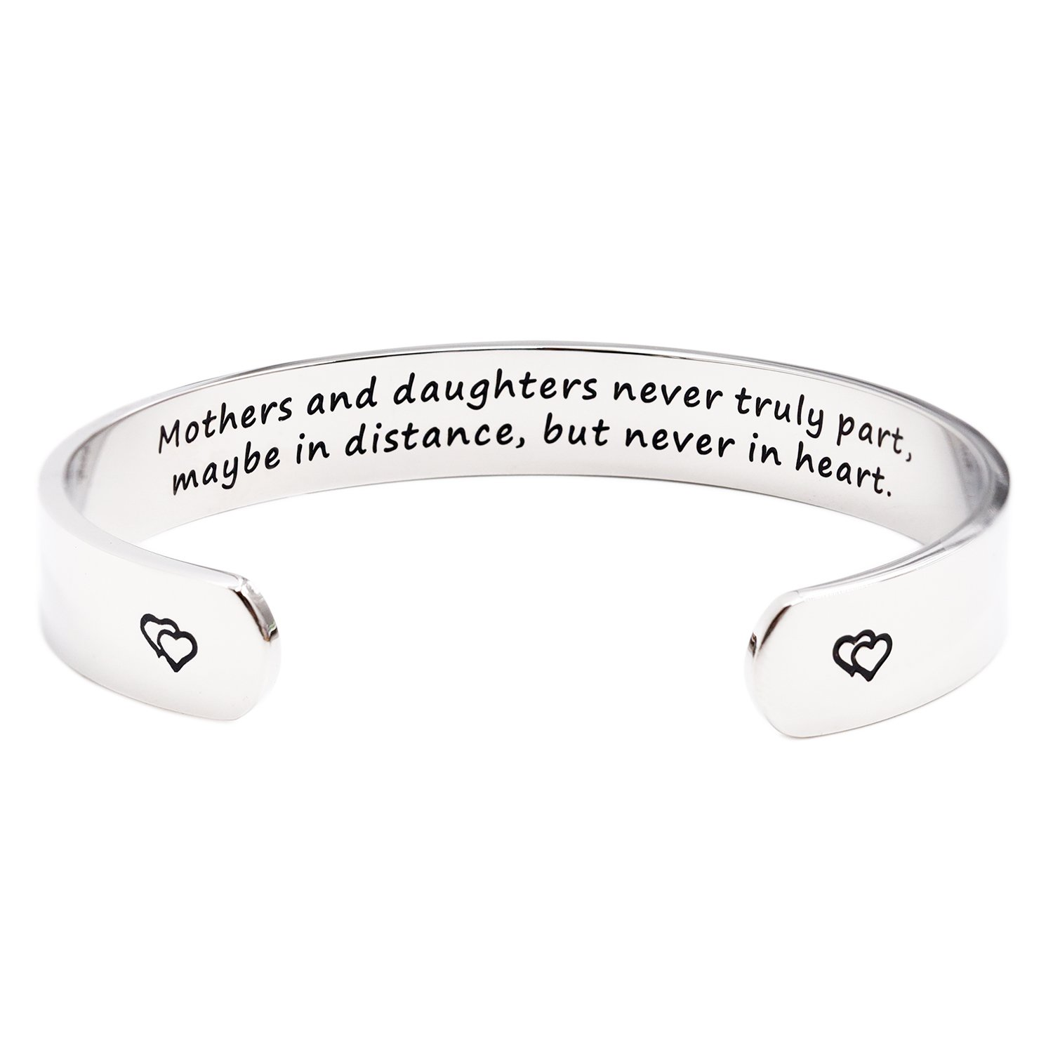Mothers and Daughters Maybe in Distance But Never Truly Part But Never in Heart Bracelet  sc 1 st  Amazon.com & Good Gifts for Mom: Amazon.com