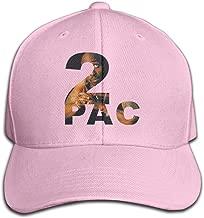 Men's Hats 2pac Tupac Shakur Logo Ash Golf Baseball Cap