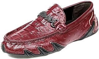 [Hardy] メンズローファーカジュアルはワニブロックビジネス英国ファッションドレスシューズの です。