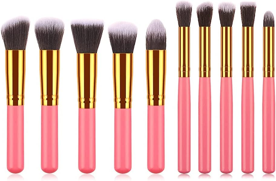 Make Up Brushes 10pcs Makeup Brush Set Soft Cosme Synthetic Bargain sale Hair Limited time for free shipping