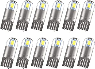 NEW UPGRADED 12pcs T10 194 LED Bulbs, Extremely Bright...