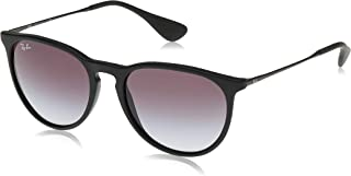 Ray-Ban Women`s Rb4171 Erika Round Sunglasses