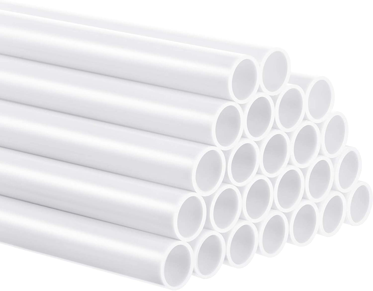 Free Shipping Cheap Bargain Gift 24 Pieces Plastic White Cake Dowel Construc Rods for Tiered Manufacturer OFFicial shop