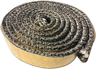 Fireplace AWP130 Self Stick Adhesive Gasket Wood Pellet Stove Window Glass Door Black Tape