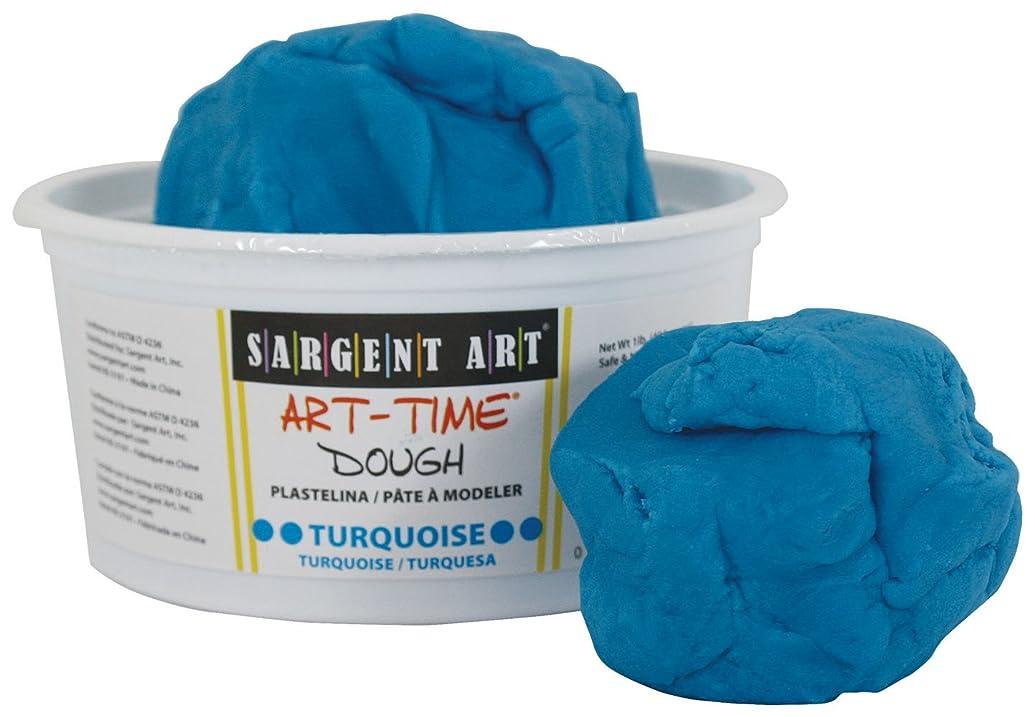 Sargent Art 85-3161 1-Pound Art-Time Dough, Turquoise