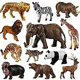 Max Fun 12pcs Giant Jungle Animal Toys, Giant...