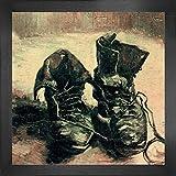 1art1 Vincent Van Gogh Poster Kunstdruck und MDF-Rahmen -