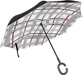 8af3a077fc30 Amazon.com: plaid umbrella