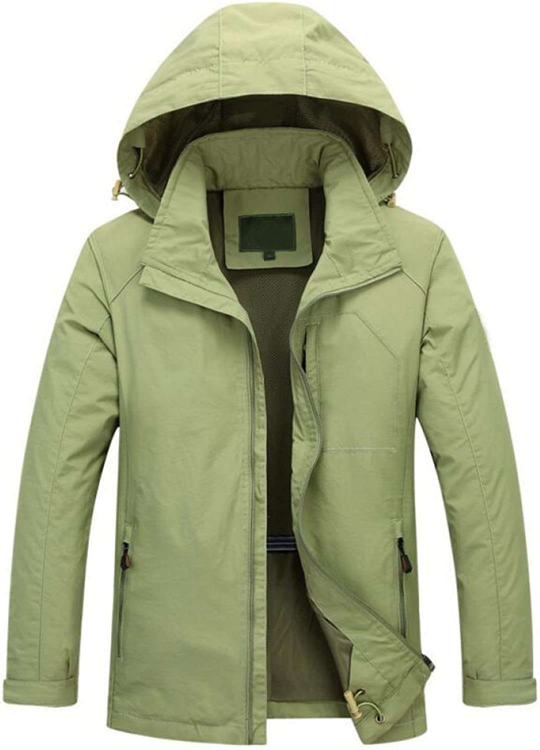PFSYR Men's Jacket Spring and Autumn Casual QuickDrying Jacket Breathable Loose Jacket