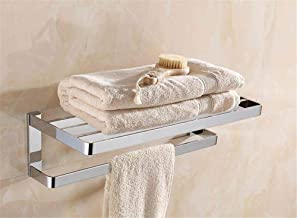 MBYW moderne minimalistische hoge dragende handdoek rek badkamer handdoek rail Koper chroom handdoek rek handdoeken/badkam...