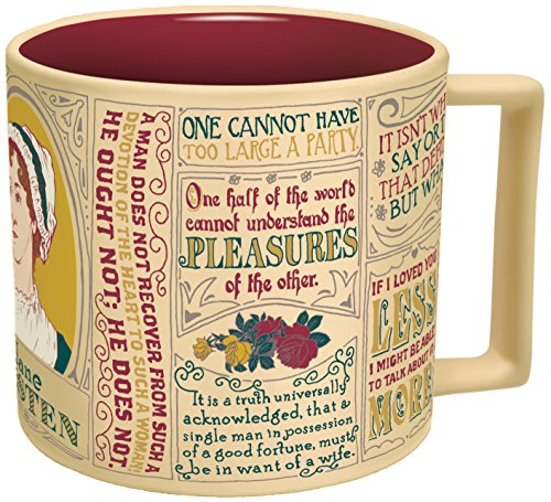 Jane Austen Coffee Mug
