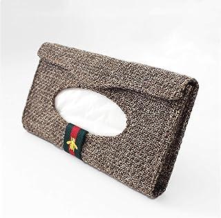 Sonnenblende Tissue Box PapiertaschentuchboxCar hanging sun visor paper towel clip car paper box box tissue box, A