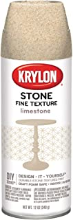 Krylon K03703000 Fine Stone Textured Finish, Limestone