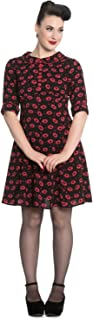 Kiss Me Deadly Emo Punk 60's Dress