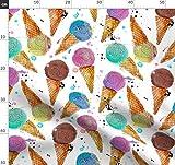 Eis, Garn, Wollknäuel, Wasserfarben, Garndesign Wettbewerb
