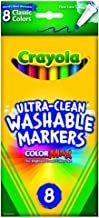 Crayola 58-7809 Washable Thinline Marker 8 Count