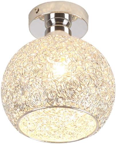 Plafonnier En Aluminium Créatif Moderne Simple, Lustre Du Salon Du Couloir 18  15CM, Source De Lumière LED
