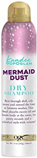 OGX Kandee Johnson Collection Mermaid Dust Dry Shampoo for Oily Hair, Absorbs Dirt & Oil to Revitalize Hair & Features Kan...