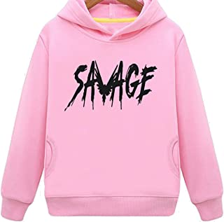 Kids Savage Logang Hoodie with Side Pockets