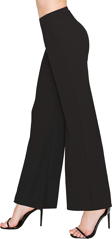 ALWAYS Women's Ribbed Jogger Pants - Rib Knit Stretch Sweatpants