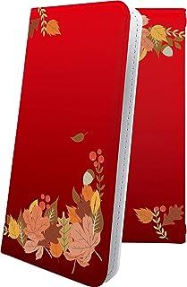 ケース isai V30+ LGV35 互換 手帳型 もみじ 紅葉 花柄 花 フラワー イサイ プラス 手帳型ケース 和柄 和風 日本 japan 和 isaiv30 plus おしゃれ