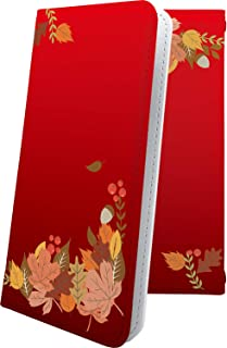 AQUOS Compact SH-02H ケース 手帳型 もみじ 紅葉 花柄 花 フラワー アクオス コンパクト 手帳型ケース 和柄 和風 日本 japan 和 SH02H AQUOSCompact おしゃれ
