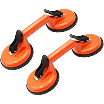 Glass Puller Repairing Tool Window Ceramic Tiles for Homes Granite Plates Flat Materials Wear-Resistant Strong Glass Suction wosume Glass Suction Cup
