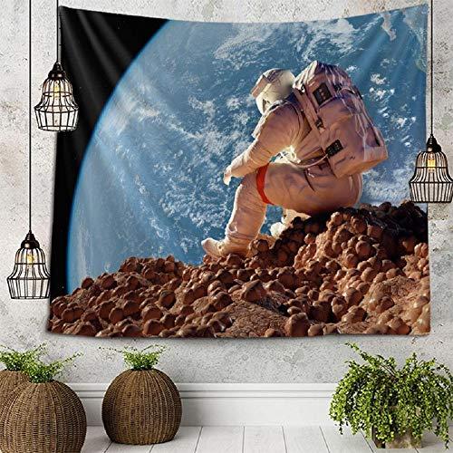 Tapiz espacial Tapices para colgar en la pared Pared para decoración del hogar Sala de estar Dormitorio Pared 180x180cm